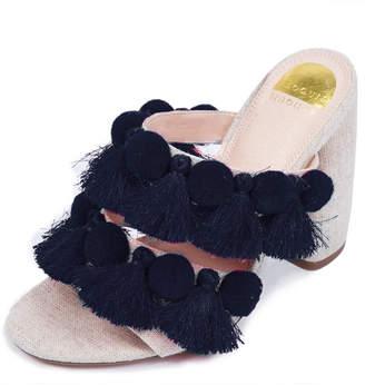 ELOQUII Trini Fringe Sandal Heel