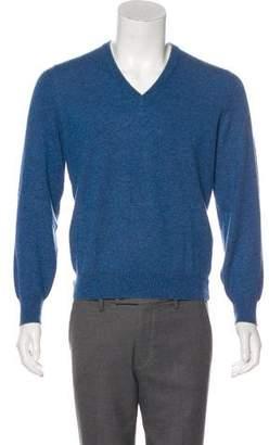 Brunello Cucinelli Cashmere V-Neck Sweater w/ Tags