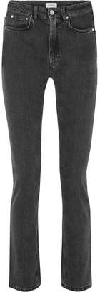 Totême Standard High-rise Slim-leg Jeans - Gray