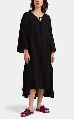 Natalie Martin Women's Fernanda Cotton Gauze Dress - Black