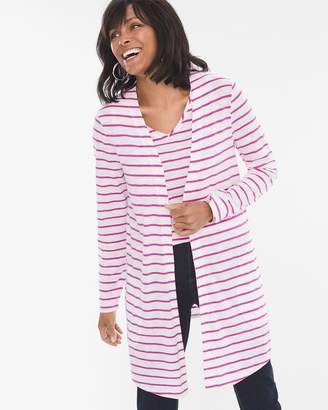 Chico's Chicos Striped Cardigan