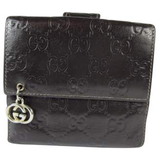 Gucci Leather portefeuille