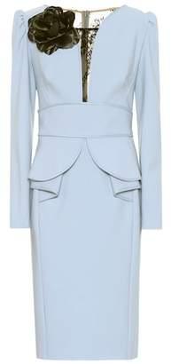 Elie Saab Embellished midi dress