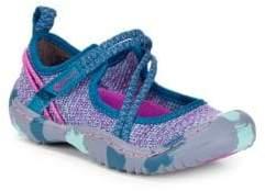 Jambu Little Girl's & Girl's Woven Sneakers