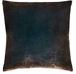 Kevin OBrien Kevin O'Brien Ombré Velvet Pillow-Bronze, Gold