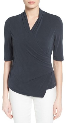Women's Nic+Zoe City Retreat Faux Wrap Top $148 thestylecure.com