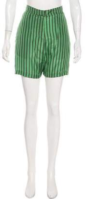 Marni Silk Mini Shorts