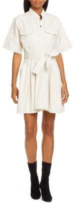A.L.C. Bryn Belted A-Line Dress
