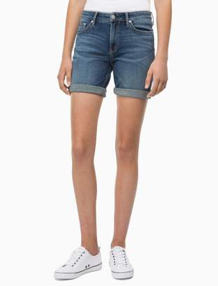 Calvin Klein mid blue city shorts