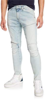 G Star G-Star Men's 5620 Zip-Trim Skinny Jeans - Elto Light