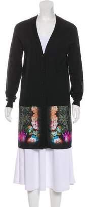 Etro Floral Long Cardigan
