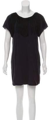 3.1 Phillip Lim Fringe-Accented Mini Dress