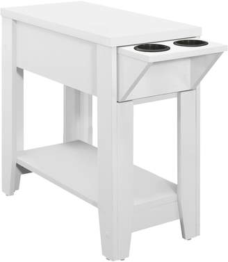 Monarch Glass Holder Accent Table