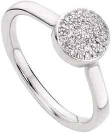 Monica Vinader 'Ava' Diamond Button Ring