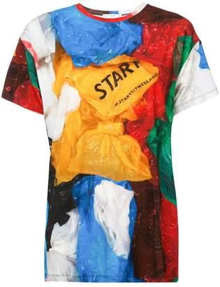 Vionnet plastic bag print T-shirt