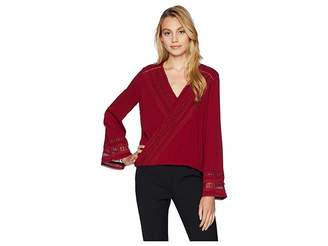 Miss Me Long Sleeve with Lace Trim