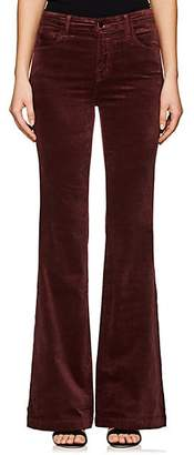 J Brand WOMEN'S MARIA FLARED JEANS - RED SIZE 23