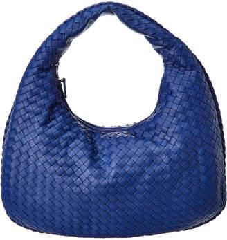 Bottega Veneta Veneta Medium Leather Hobo Bag