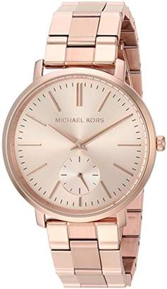 Michael Kors Women's 'Jaryn' Quartz and Stainless-Steel-Plated Casual Watch