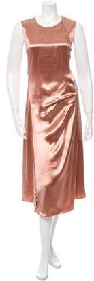 Reed Krakoff Sleeveless Satin Dress