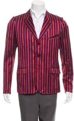 Damir Doma 2013 Silk Three-Button Blazer