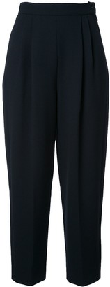 DELPOZO high-rise cropped trousers