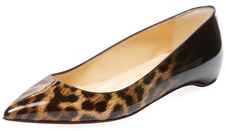 Christian Louboutin  Pigalle Follies Patent Leather Flat