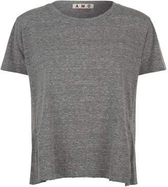 Amo Denim Twist Round Neck T-shirt
