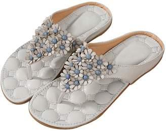 92fc59433e990 DanSoul Women s Flat Sandals Flip Flop Slippers Sandals Flat Beach Sandals  for women Plus Size on