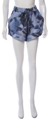 IRO Silk Mini Shorts