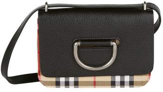 Burberry Mini D-Ring Cross Body Bag