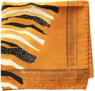 Eton Zebra Pocket Square