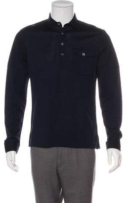 Ralph Lauren Black Label Woven Polo Shirt w/ Tags