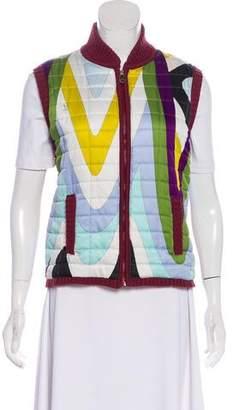 Emilio Pucci Quilted Knit Vest