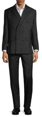 Brioni Wool & Mohair Pinstripe Suit