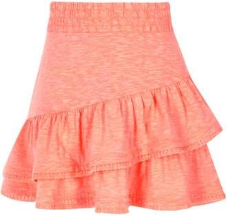River Island Girls pink tassel hem skirt