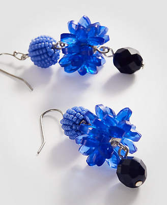 Ann Taylor Seed Bead Drop Earrings