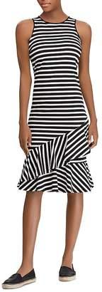 Lauren Ralph Lauren Sleeveless Striped Cotton Dress