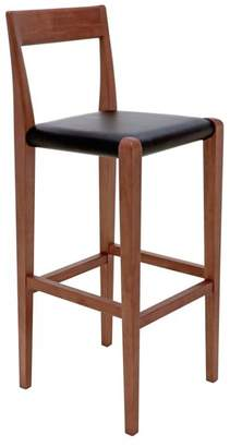 Ameri Nuevoliving Leather Bar Stool