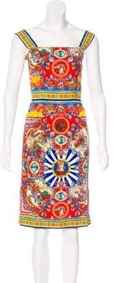Dolce & Gabbana 2016 Carretto Siciliano Dress