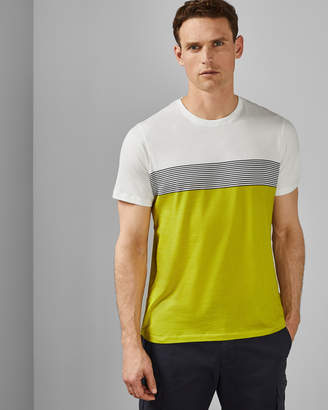 586269a37fb3 Ted Baker WABADOO Striped cotton T-shirt