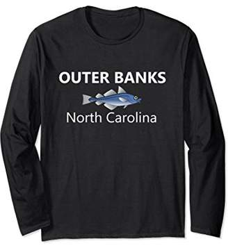 Outer Banks Long Sleeve Shirt Fishing Family Vacation Gift