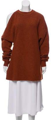 Tibi Button- Accented Knitted Sweater