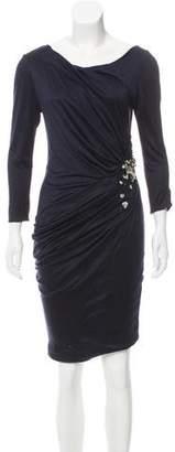 J. Mendel Embellished Cocktail Dress