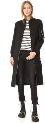 McQ - Alexander McQueen Kilt Coat $990 thestylecure.com