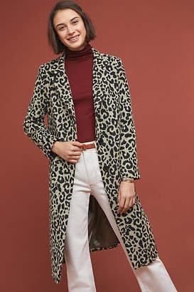 Helene Berman London Longline Leopard Coat