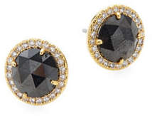 Kate Spade Pavé Crystal Halo Stud Earrings