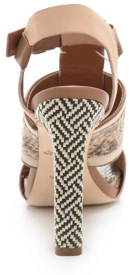 Rachel Roy Faye Mixed Media Sandals