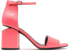 Alexander Wang Abby Neon Leather Sandals