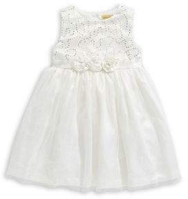 Penelope Mack Baby Girl's Sequin Mesh Dress
